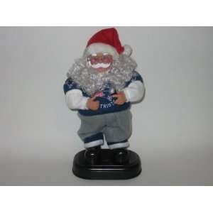 NEW ENGLAND PATRIOTS 13 Rock N Roll Battery Operated Christmas
