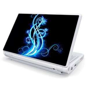Abstract Blue Neon Design Skin Cover Decal Sticker for Acer
