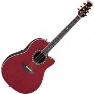 1777 LX Legend Acoustic Electric Guitar (Black) Musical Instruments