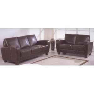 Briarwood Leather Sofa & Loveseat Set Briarwood Leather Sofa