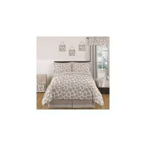 Giraffe 3 Piece Full / Queen Bedding Set