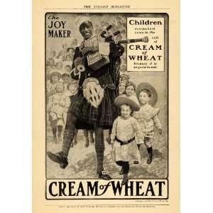 1906 Ad Joy Maker Children Bagpipes Cream of Wheat Co