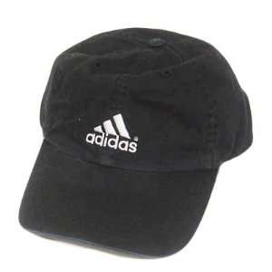 ADIDAS BLACK WEEKENDER BASEBALL CAP HAT COTTON