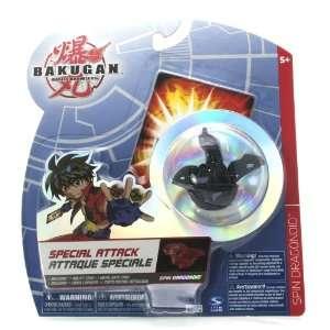 Bakugan Battle Brawlers Special Attack Black Spin