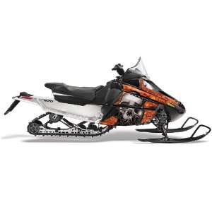 Cat F Series Snowmobile Sled Graphic Kit: Bone Collec Automotive