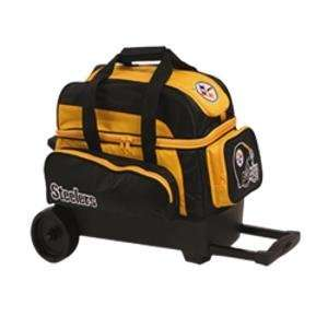 NFL Double Roller Bowling Bag  Pittsburg Steelers  Sports