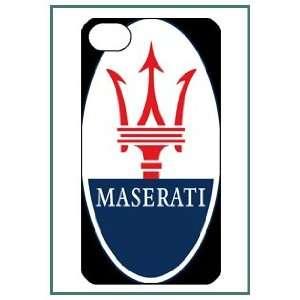 Maserati iPhone 4 iPhone4 Black Designer Hard Case Cover
