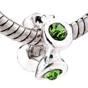 Birthstone Spacer Beads Fits Pandora Charm Bracelet Pugster Jewelry