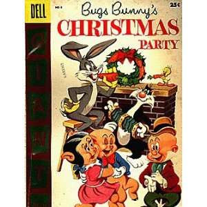 Bugs Bunnys Christmas Party (1955 series) #6 Dell