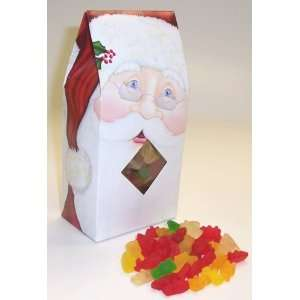 Scotts Cakes Gummie Bears 1/2 Pound Standing Santa Box: