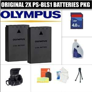 2x Olympus Ps bls1 Lithium Ion Rechargeable Batteries for