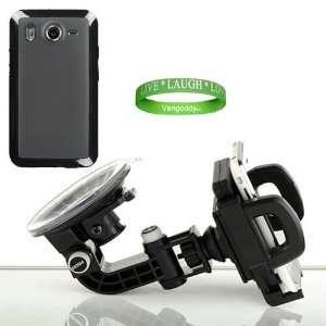 Ultra Durable Compact Car Mount Kit Black Compatible Car Mount