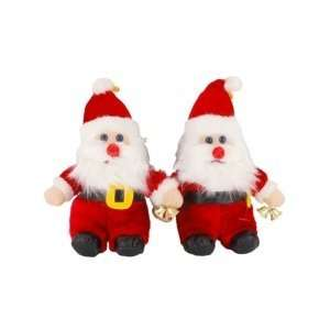 Father Christmas Santa Claus Speaker Sound Box (2 Pack) Electronics