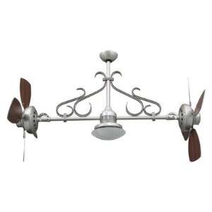 26 Adjustable Dual Ceiling Fan with Light Kit
