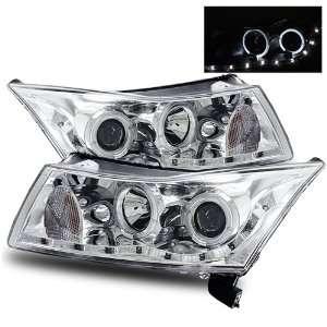 11 Chevy Cruze Chrome LED Halo Projector Headlights