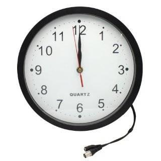 New Wireless Wall Clock Hidden Camera Kit   SEC CLOCKCAM Electronics