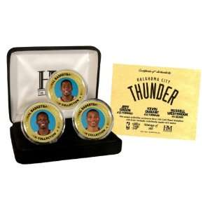 Gold & Color 3 Coin Set   NBA Photomints and Coins Sports & Outdoors