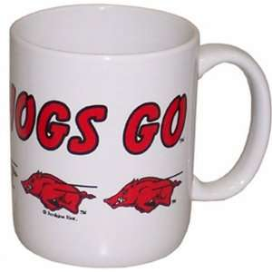 NCAA Arkansas Razorbacks Ceramic Mug Running Hog  Sports