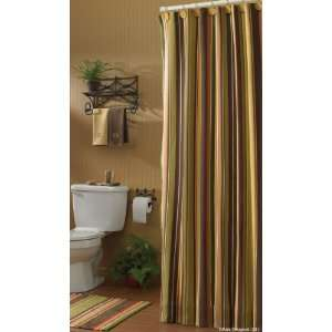 Sesame Country Cottage Frabric Shower Curtain