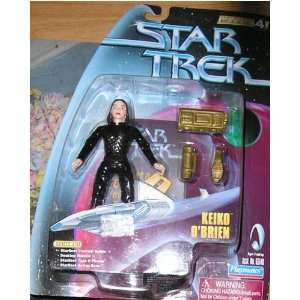 KEIKO OBRIEN Star Trek Deep Space Nine Warp Factor Series 4 Action