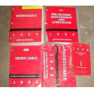 Service Shop Manual Set (service manual, electrical wiring diagrams