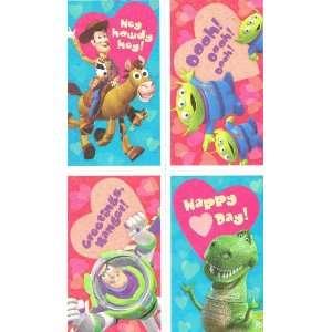 Disney/PIXAR Toy Story 32 Valentine Cards with Stickers