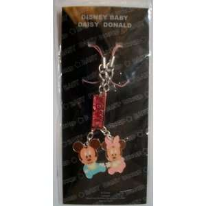 Disney Baby Mickey and Minnie Metal Cell Phone Charm Strap