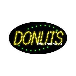 Animated Donuts LED Sign Everything Else