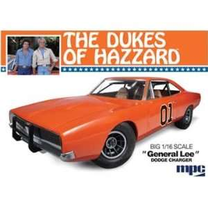 16 Dukes of Hazzard General Lee Charger Car Model Kit: Toys & Games