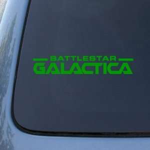 BATTLESTAR GALACTICA LOGO   Vinyl Decal Sticker #A1425  Vinyl Color