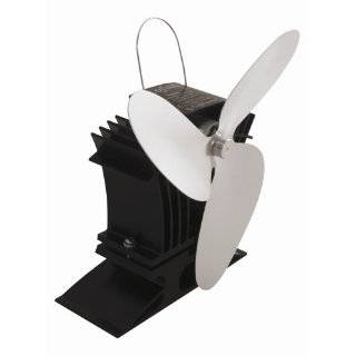 Heat   powered Wood Stove Fan, GOLD, AIRPLUS 3 BLADE
