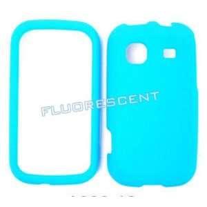 Samsung Trender M380 Fluorescent Solid Light Blue Hard Case, Cover