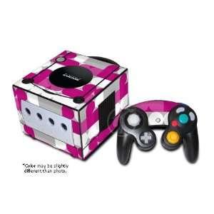Neo Pink Design GameCube Decorative Protector Skin Decal