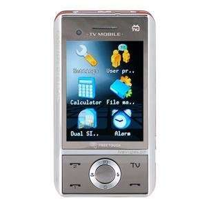 Standby Touch Screen TV FM Cell Phone Red Cell Phones & Accessories