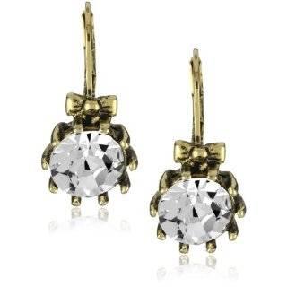 Betsey Johnson Classic Lucite Teardrop Earrings Jewelry