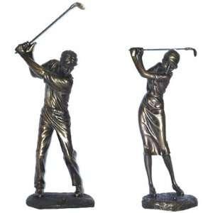Gentleman or Lady Golfer Statue (StatueGentleman Golfer