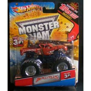 HOT WHEELS MONSTER JAM GRAVE DIGGER 30th ANNIVERSARY EDITION WITH