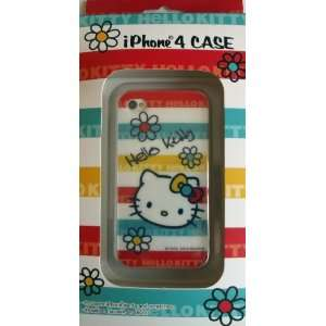 Hello Kitty iPhone 4 Case Border Cell Phones