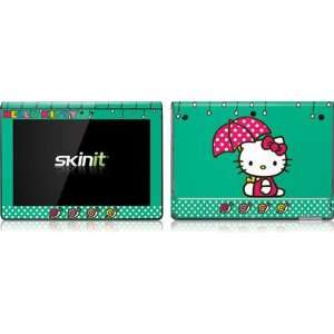 Hello Kitty Polka Dot Umbrella Vinyl Skin for Sony Tablet S Computers