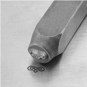 Figure 8 With Diamonds Flourish Impress Art Punch Stamp for Metal 1