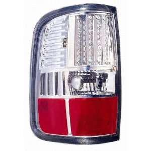 Depo 330 1926PXUSV Ford F150 Chrome LED Tail Light