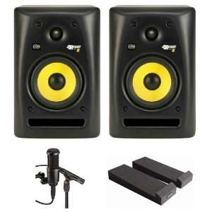 Rokit Series Speakers with 8 Glass Aramid Composite Woofer + Audio