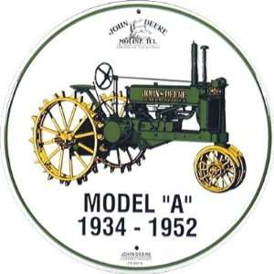 John Deere Model A Circle Sign
