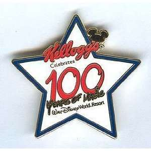Disney WDW Kelloggs 100 Years of Magic GWP 2002 PIN