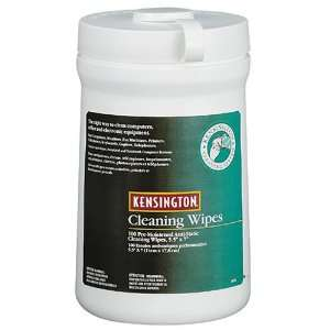Kensington Cleaning Wipes Pre Moistened 100 Ct