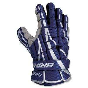 Brine Prospect Lacrosse Gloves 12 (Navy): Sports