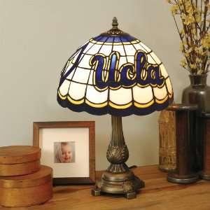 of California Los Angeles Stained Glass Table Lamp