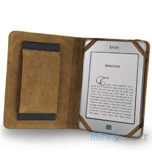 Leather Folio Case Cover with Hand Compartment, Latest Generation