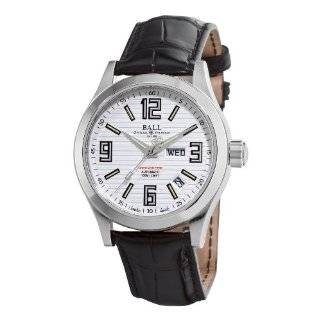 Cleveland Express Silver Day Date Dial Watch Ball Watches