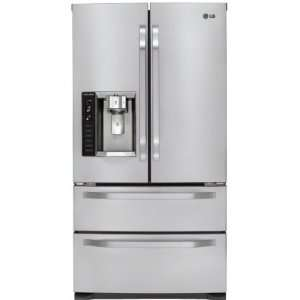 Counter Depth Refrigerator Tall Ice and Water  Kitchen